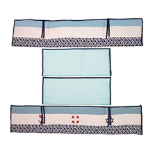 Nautica Kids Whale of Tale 4 Piece Crib Bumper