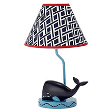 Nautica Kids Whale of A Tale Lamp and Shade