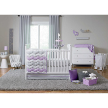 Happy Chic Baby by Jonathan Adler Emma 4 Piece Crib Bedding