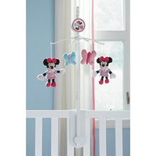 Disney Minnie Butterfly Charm Musical Mobile