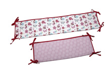 Disney Minnie Garden Portable Crib Bumper