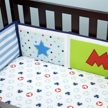 Disney Mickey Mouse Traditional Crib Bumper