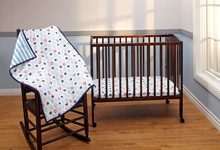 Disney Mickey Mouse 3 Piece Portable Crib Set