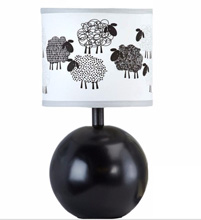 NoJo® Good Night Sheep Lamp Base and Shade