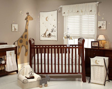 NoJo Dreamy Nights 4 Piece Crib Bedding