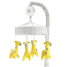 Happy Chic Baby Safari Giraffe Musical Mobile by Jonathan Adler