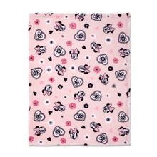 Disney Minnie Mouse Hello Gorgeous French Fiber Blanket