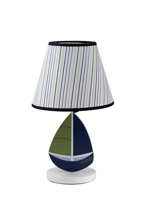 Crown Craft Zachary Lamp Amp Shade By Nautica Kids Ideal Baby