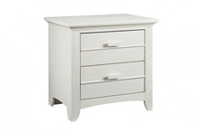 Ozlo Baby Crestwood Nightstand Oyster White