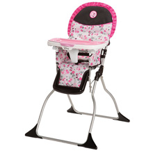 Disney Simple Fold Plus High Chair Minnie's Garden Delight