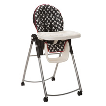 Disney Adjustable High Chair Mickey Silhouette
