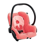 Maxi Cosi Mico Infant Car Seat in Leopard Pink