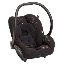 Maxi Cosi Mico Air Protect Infant Car Seat Devoted Black