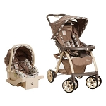 Safety 1st Disney Pooh Saunter Luxe Travel System