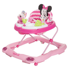 Disney Minnie Mouse Glitter Music and Lights Walker, Pink