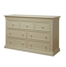 Sorelle Verona Double Dresser French White