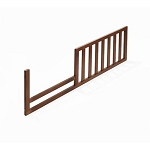 Sorelle Verona Toddler Guard Rail in Espresso