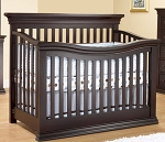 Sorelle Furniture Flat Top Verona Convertible Crib in Espresso