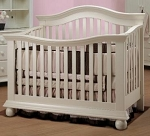 Sorelle Vista Couture Cassidy Crib in French White