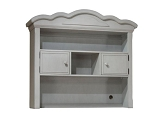Lusso Nursery Ravenna Hutch - Gray