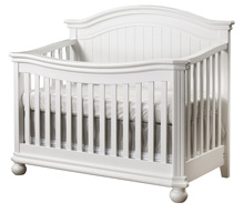 Sorelle Finley 4 in 1 Crib, White