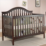 4 in 1 Lynn Crib in Merlot by C&T International