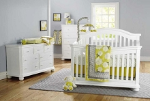 Sorelle Vista Elite Crib White