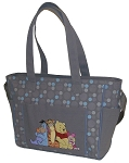 Cuddlie Pooh Dot Print Double Handle Tote Bag