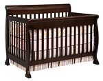 Million Dollar Baby Kalani 4 in 1 Kalani Crib in Espresso