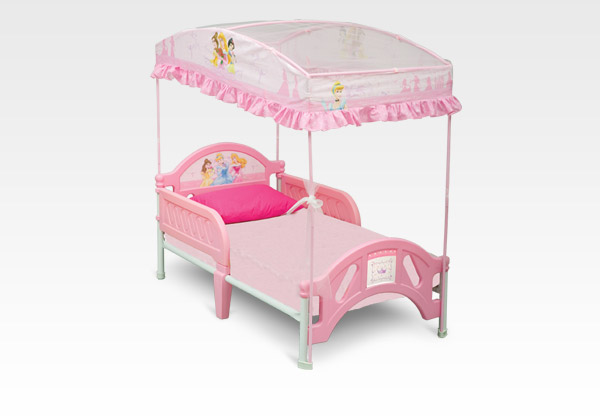 Canopies: Disney Princess Toddler Bed With Canopy