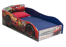 Disney Cars Wood Toddler Bed