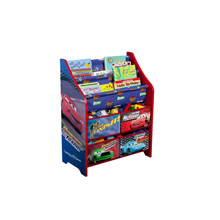 Disney Pixar Cars Book and Toy Organizer