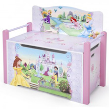 Delta Disney Princess Bench with Storage