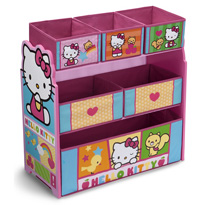 Delta Children Hello Kitty Multi-Bin Toy Organizer
