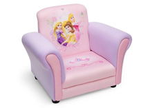 Delta Children Disney Princess Upholstered Chair