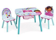 Delta Children Dora The Explorer Table and Chair Set