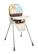 Delta Children Beginnings High Chair, Novel Ideas
