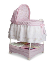 Delta Glider Bassinet with Front Module Pink