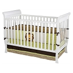 Delta Glenwood 3 in 1 Crib, White