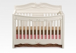 Delta Disney Enchanted Convertible Crib in White Ambience