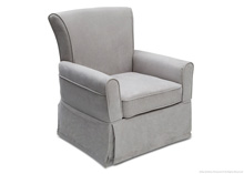 Delta Children Benbridge Upholstered Glider, Grey