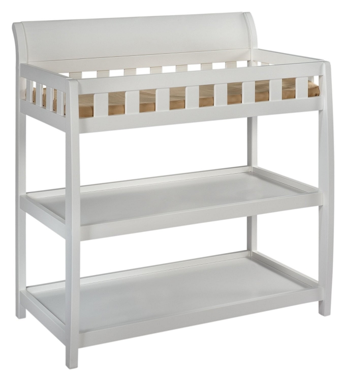 Delta Children Bentley Changing Table White Ideal Baby