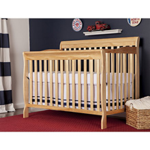 Dream On Me Ashton 4 in 1 Convertible Crib, Natural