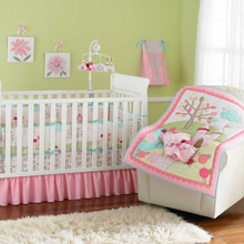 Just Born Dreams Come True 8-Pc Bedding Set