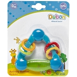 Bebe Dubon Activity Teething Rattle