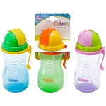 Dubon 16 Ounce Sports Sipper Cup with Pop-Up Straw