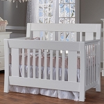Pali Emilia Forever Crib in White