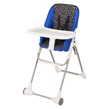 Evenflo Symmetry™ Flat Fold High Chair, Hayden Dot