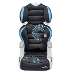 Evenflo Amp High Back Booster Car Seat Sprocket