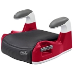Evenflo Amp Performance No-Back Booster Car Seat, Red